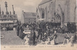 SAINT-JEAN-TROLIMON - Chapelle De Tronoen Un Jour De Pardon - Vente Au Déballage - Saint-Jean-Trolimon
