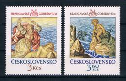 Tschechoslowakei/CSSR 1976 Mi.Nr. 2319/20 Kpl. Satz ** - Ongebruikt