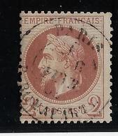 France N°26 - Oblitéré - B - 1863-1870 Napoleon III Gelauwerd