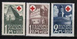 1931 Finland Red Cross Complete Set MNH. - Neufs