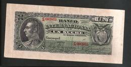 Ecuador - Banco Internacional - 1 Sucre (1886-1894) - Ecuador