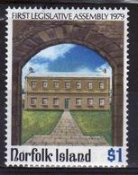 Norfolk Island 1979 Single $1 Stamp To Celebrate Legislative Assembly. - Norfolk Island