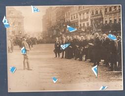Lille Photo 1914 1918 Liberation De Lille 1918  Général Birdwood Avec Le Maire Et Le Consul (voire Dos) - Lille