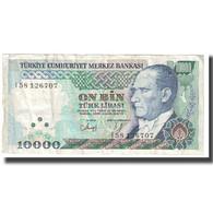 Billet, Turquie, 10,000 Lira, 1970, 1970-10-14, KM:200, TB - Turkije