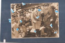 Lille Photo 1914 1918 Liberation De Lille 1918 ( Windston Churchill Dans Lille (voire Dos) - Lille