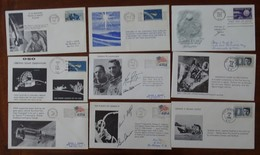 #SO76# USA 76 DIFFERENT SPACE COVERS, PERIODE 1966-1971. SEE 9 PICTURES. - USA