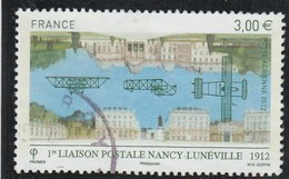 FRANCE 2012 NANCY LUNEVILLE YT PA 75 OBLITERE  - - Airmail