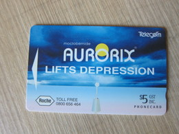 GPT Phonecard,ADCB,Aurorix Lifts Depression,mint - Neuseeland