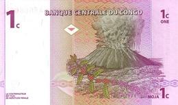 CONGO D.R. P.  80a 1 C 1997 UNC (2 Billets) - Repubblica Democratica Del Congo & Zaire