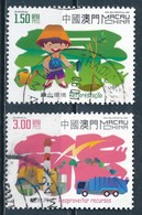 °°° MACAO MACAU - Y&T N°1101/2 - 2002 °°° - Used Stamps