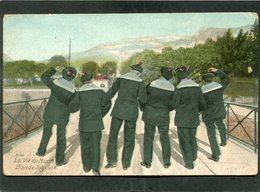 CPA - La Vie Du Marin - Bande Joyeuse - Krieg