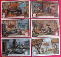 6 Chromo Liebig : Façons De Dormir. 1925. S 1166. Chromos. - Liebig