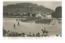 CPA (88) Remiremont. L'Artillerie (14juillet) Vue Du Parmont.   (M.385). - Remiremont