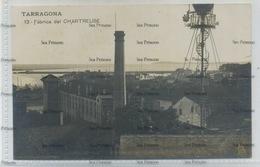 Spain Postcard Cataluna Tarragona Catalonia Fabrica De Chartreuse 1910s-20s - Tarragona