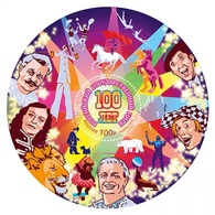 Russia 2019 Block Circus 100th Anniversary Russian State Circuses Celebrations Horse Polar Bear Lion Art S/S Stamp MNH - Circus