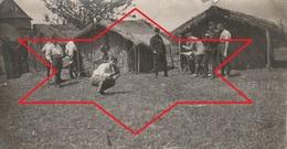 Photo Juillet 1915 Ferme De BEAULIEU à MARAINVILLER (Croismare) - La Construction Du Cantonnement (A216, Ww1, Wk 1) - Francia