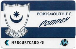 UK (Paytelco) - Football Clubs - Portsmouth Logo - 3PFLX, 5.900ex, Used - Ver. Königreich