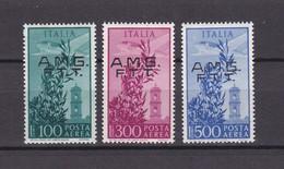 Triest - Zone A (AMG FTT) - 1948 - Michel Nr. 47/49 - 60 Euro - Ungebraucht