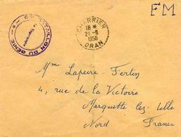 CHARRIER - Bureau Auxiliaire - (Oran) - 1956 - Algérie (1924-1962)
