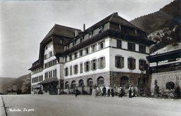 (129) CPA   Vallorbe  La Gare  (Bon Etat) - VD Vaud
