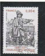 FRANCE 2013 CHARLES DE GONZAGUE  OBLITERE A DATE YT 4745                               - - Francia