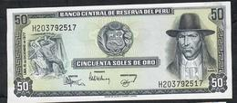 PERU  P113 50  SOLES DE ORO    15.12.1977   UNC. - Perú