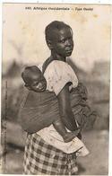 """Sénégal / """" Type Ouolof """" / Wolof / Collection Fortier - Sénégal"""