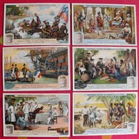 6 Chromo Liebig : L'origine De Diverses Colonies. 1922. S 1146. Chromos. - Liebig