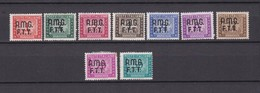 Triest - Zone A (AMG FTT) - Portomarken - 1947/49 - Michel Nr. 5/8 + 10/11 + 13/15 - 45 Euro - Segnatasse