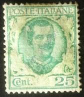 Italia Regno 1926 - Emissione Floreale - 20c Senza Stampa Ornato - U 200Da - Italien