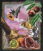 CENTRAFRIQUE  BF 448 * *  ( Cote 17e ) Chauve Souris Fruits - Fledermäuse