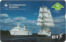 UK - BT - L&G - BTP-345 - Scandinavian Seaways - 510C - 10Units, 2.000ex, Mint - BT Edición Publicitaria