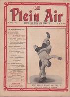 1910 Le Plein Air Revue De Tous Les Sports Lutte Cyclisme Athlétisme Canne - Non Classés