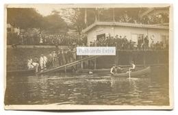 Boulogne-sur-Mer (62) - Emulation Nautique Boulonnaise, Boating / Rowing Club - First World War Real Photo Postcard? - Boulogne Sur Mer