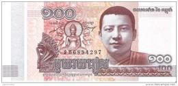 Cambodia - Pick 65 - 100 Riels 2014 - Unc - Cambogia