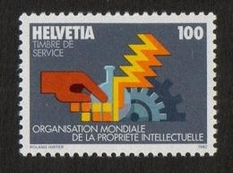 OMPI/WIPO - World Intellectual Property Organization / Helvetia / 100 / 1982 / Roland Hirter - Zwitserland