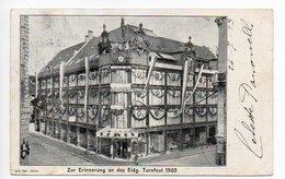 Zürich Jelmoli Eidgen. Turnfest 1903  - - -   501 - ZH Zürich