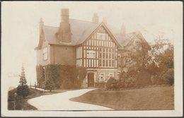 An Unidentified House, C.1910s - RP Postcard - Postcards