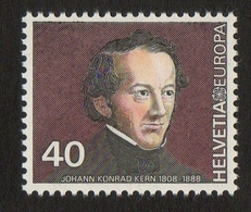 Johann Conrad Kern / Politician / Helvetia / 40 / 1980 - Suisse