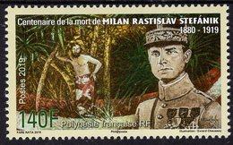 French Polynesia - 2019 - Centenary Since Milan Stefanik Death - Mint Stamp - French Polynesia