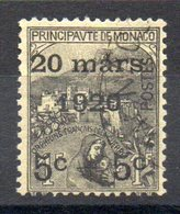 MONACO - YT N° 37 - Neuf * - MH - Cote: 55,00 € - Monaco