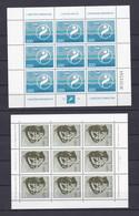 Jugoslawien - 1973/74 - Michel Nr. 1518+1522+1538 - 3 Kleinbogen - Postfrisch - 1945-1992 Sozialistische Föderative Republik Jugoslawien
