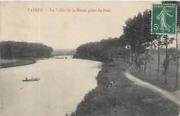 77, Seine Et Marne, VAIRES SUR MARNE, La Vallée De La Marne Prise Du Pont, Scan Recto Verso - Vaires Sur Marne