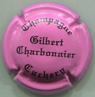CAPSULE-CHAMPAGNE CHARBONNIER Gilbert N°19 Rose Foncé Et Noir - Champagne