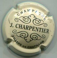 CAPSULE-CHAMPAGNE CHARPENTIER J. N°04 Crème & Noir - Other