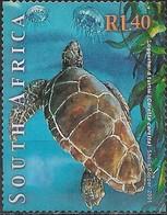 SOUTH AFRICA 2001 Marine Life - 1r.40 - Loggerhead Turtle FU - África Del Sur (1961-...)