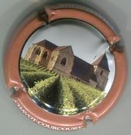 CAPSULE-CHAMPAGNE CHAVOT-COURCOURT N°23b Contour Saumon Foncé - Champagnerdeckel