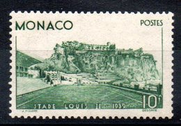 MONACO - YT N° 184 - Neuf * - MH - Cote: 135,00 € - Monaco
