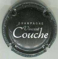 CAPSULE-CHAMPAGNE COUCHE Vincent N°05 Noir Mâte & Argent - Autres
