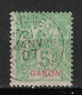 Gabon - Yvert 19 Oblitéré MAYUMBA - Scott#19 - Gabon (1886-1936)